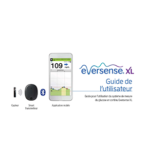 Eversense XL CGM User Guide - French, mg/dL
